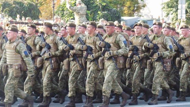 Репетиция парада к 25-й годовщине Независимости Украины в центре Киева. ФОТОрепортаж+ВИДЕО