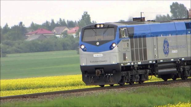"""В """"Укрзализныци"""" получили для испытаний новый грузовой локомотив от General Electric"""