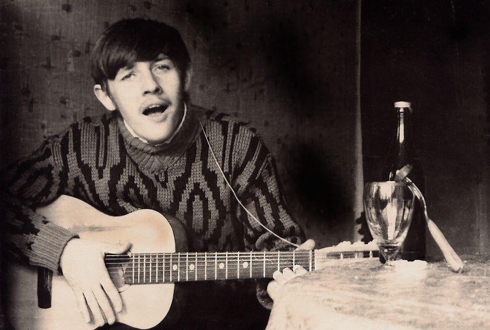 Парень с гитарой Песня души