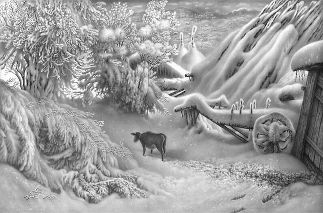 картины Гурама Доленджашвили