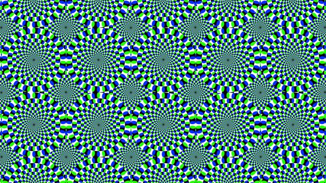 Осторожно! Самые крутые оптические иллюзии современности! Невероятный сборник картинок и анимации