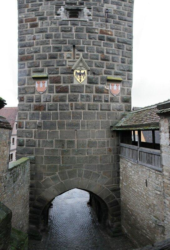 Rothenburg ob der Tauber in January