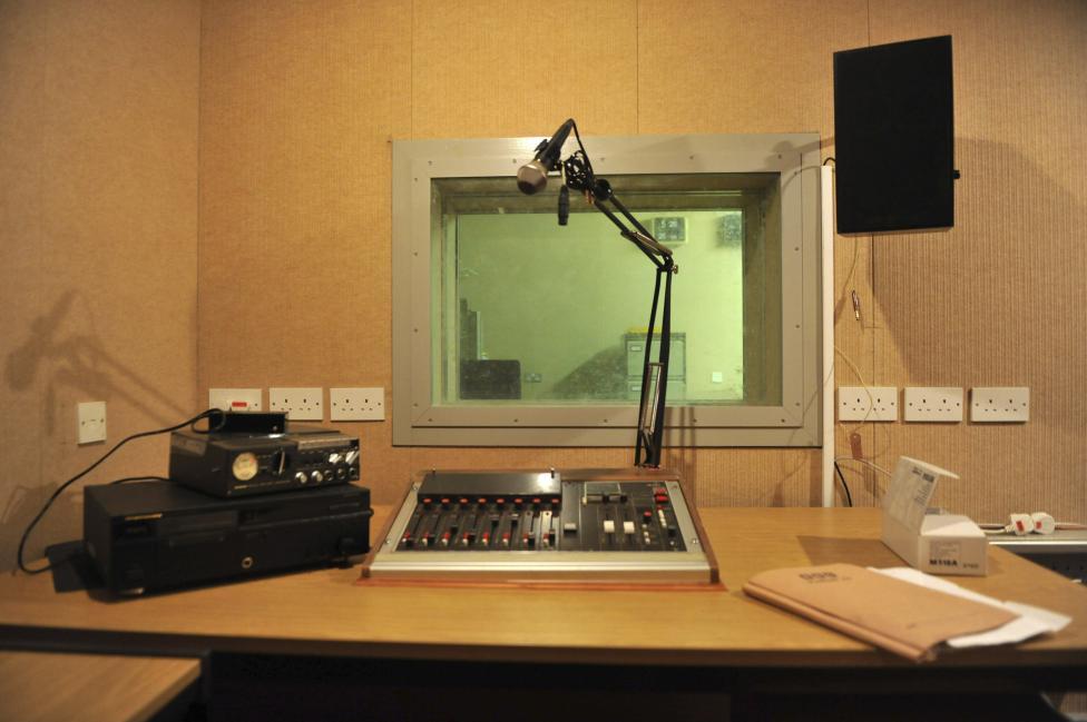 Помещение, где расположена широковещательная станция BBC.