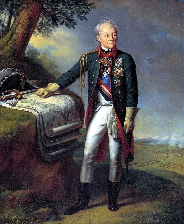 В 1798 году Павел I отправил русские войска в Италию и Швейцарию, чтобы наказать Францию за захв