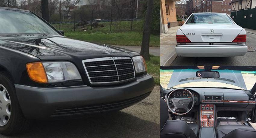Два новых Мерседеса S-Класса W140, прямиком из 90-х (26 фото)
