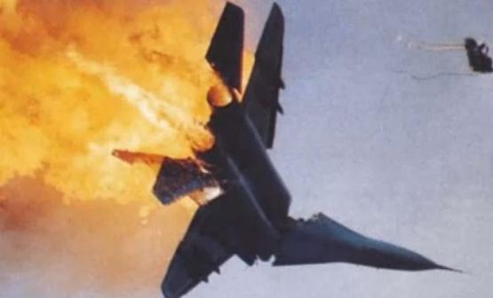 Севернее Дамаска потерпел крушение самолет ВВС Сирии