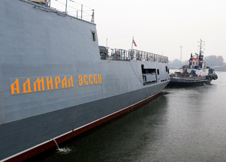 Пофакту повреждения сторожевого корабля «Адмирал Эссен» возбудили дело