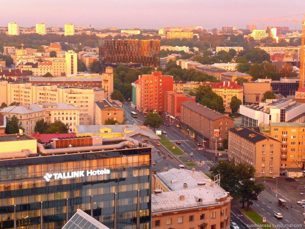Вечерний Таллин.