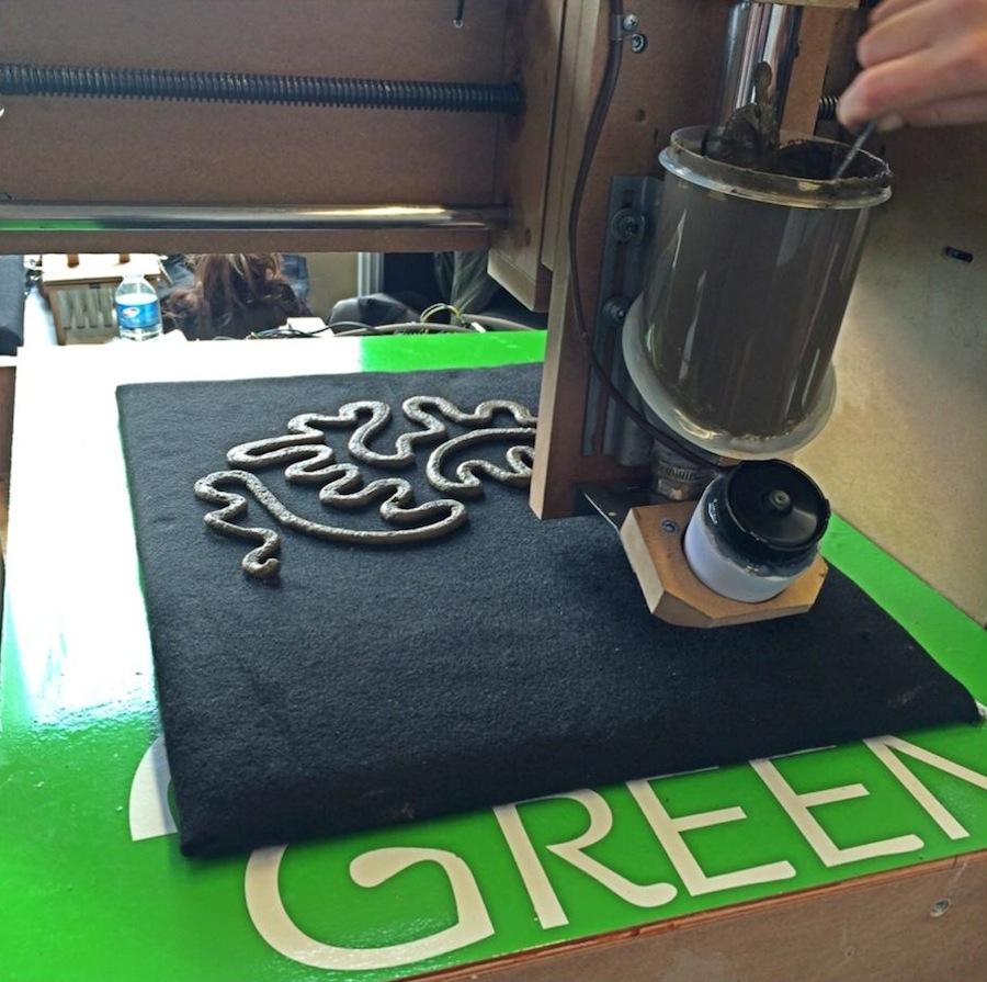 Green 3D Printer Prints Living Designs From Organic