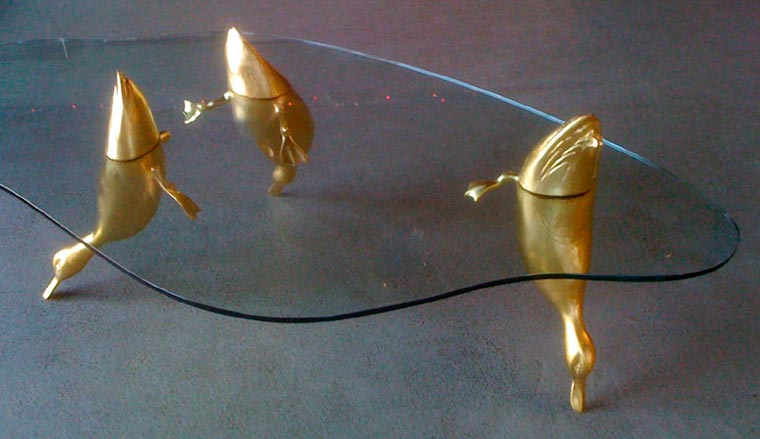 Water Tables - When animals emerge from your coffee table