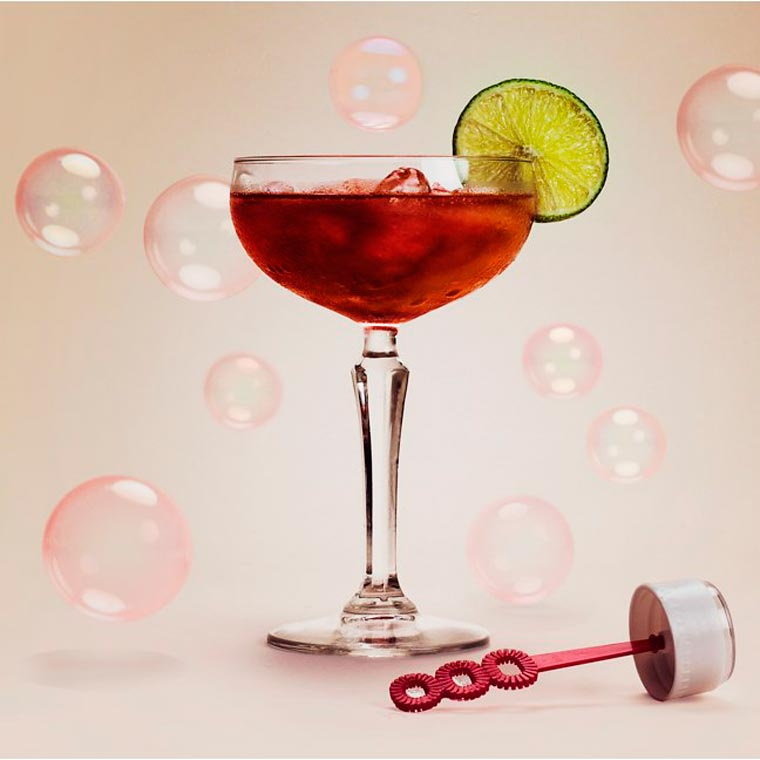 Bubble Lick - Turn your favorite cocktails into edible bubbles
