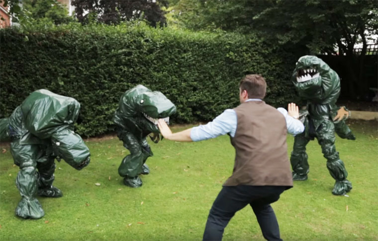 Recreating Jurassic World with no budget