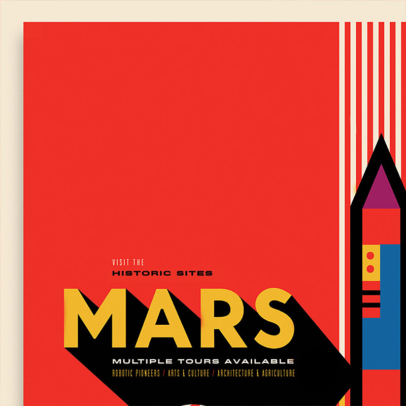 NASA Posters by Invisible Creature