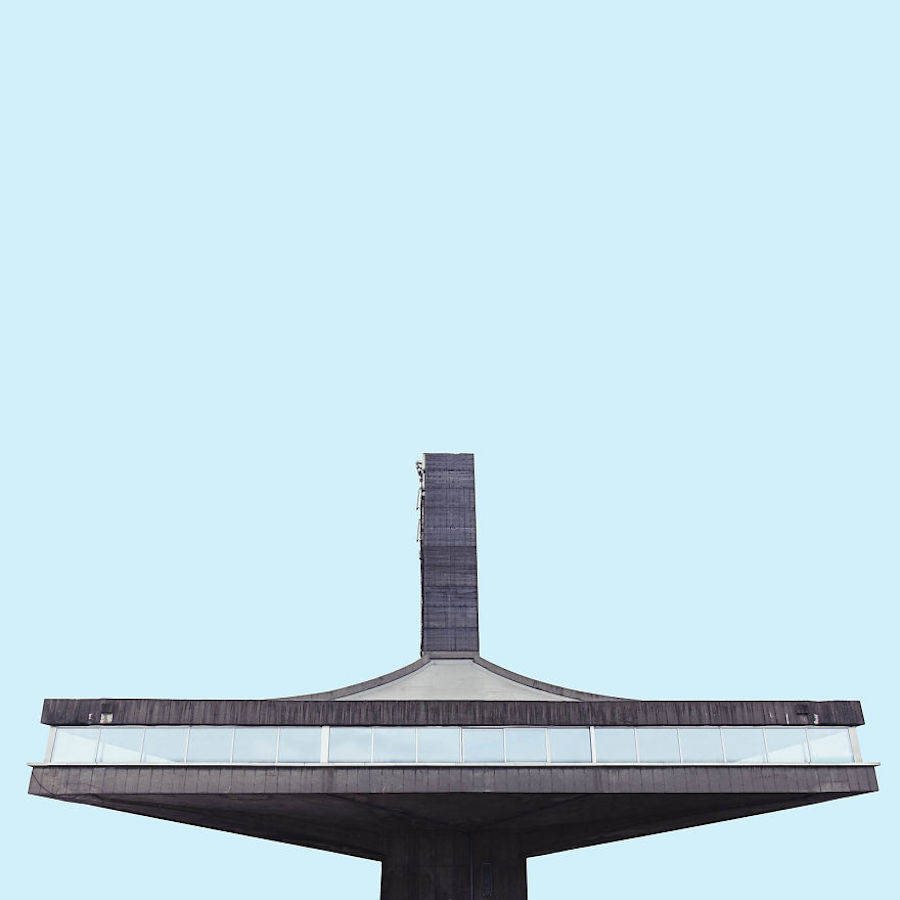 Minimalist Architectural Photography of Belgrade