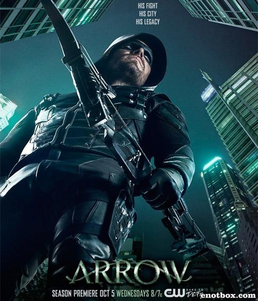 Стрела / Arrow - Сезон 5, Серии 1-22 (23) [2016, WEB-DLRip   WEB-DL 1080p] (LostFilm   NewStudio)