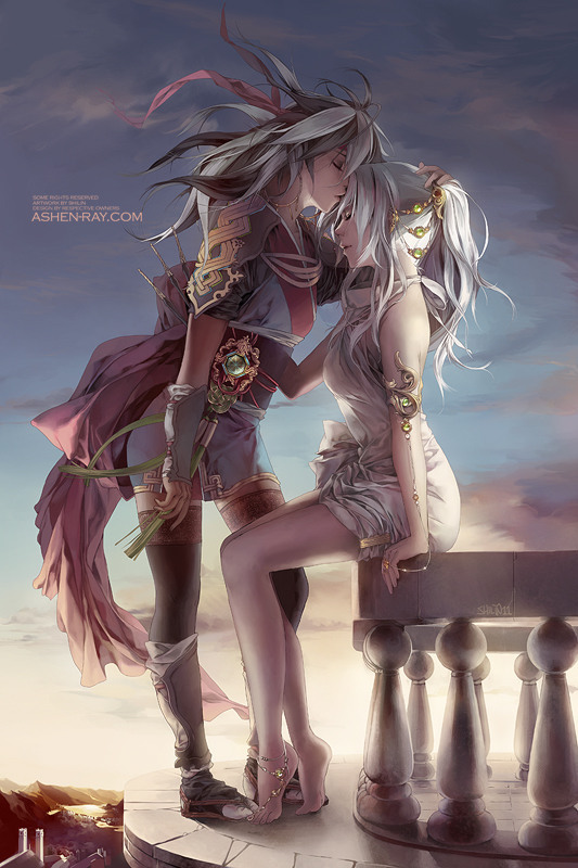 Anime Art by Shilin Huang