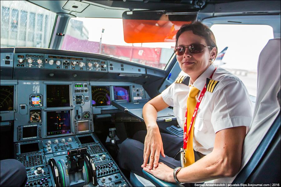 Pilotessa Veronika Velebná
