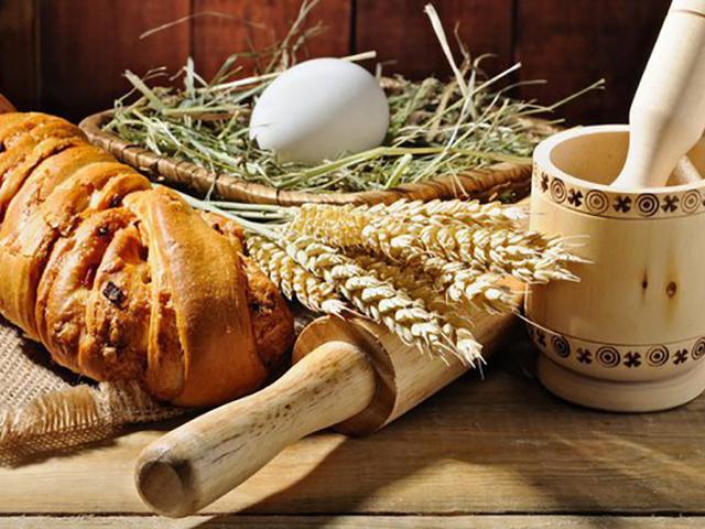 Травяной хлеб