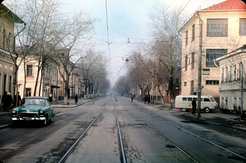 460916 Марксистская ул. от Марксистского пер. в сторону таганской площади 1972 Н.К.Соболев.jpg