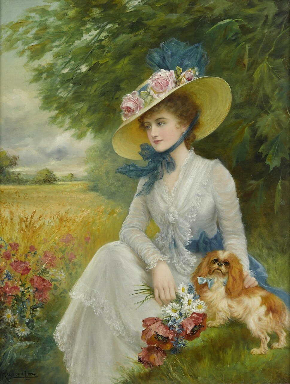 Raymond Lynde  A summer afternoon Летним днём)