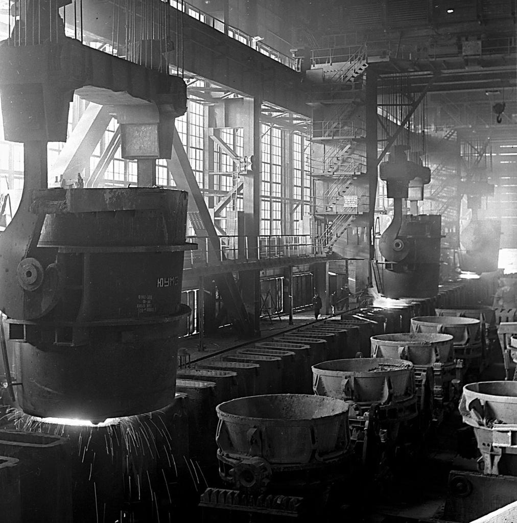 Магнитогорск. Цех металлургического завода