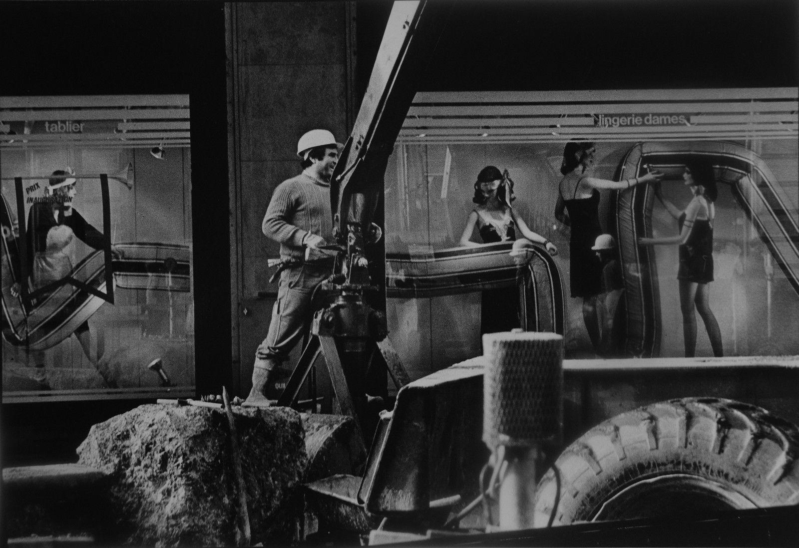 1980. Рабочий и манекены