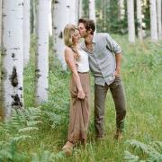 Пара в лесу