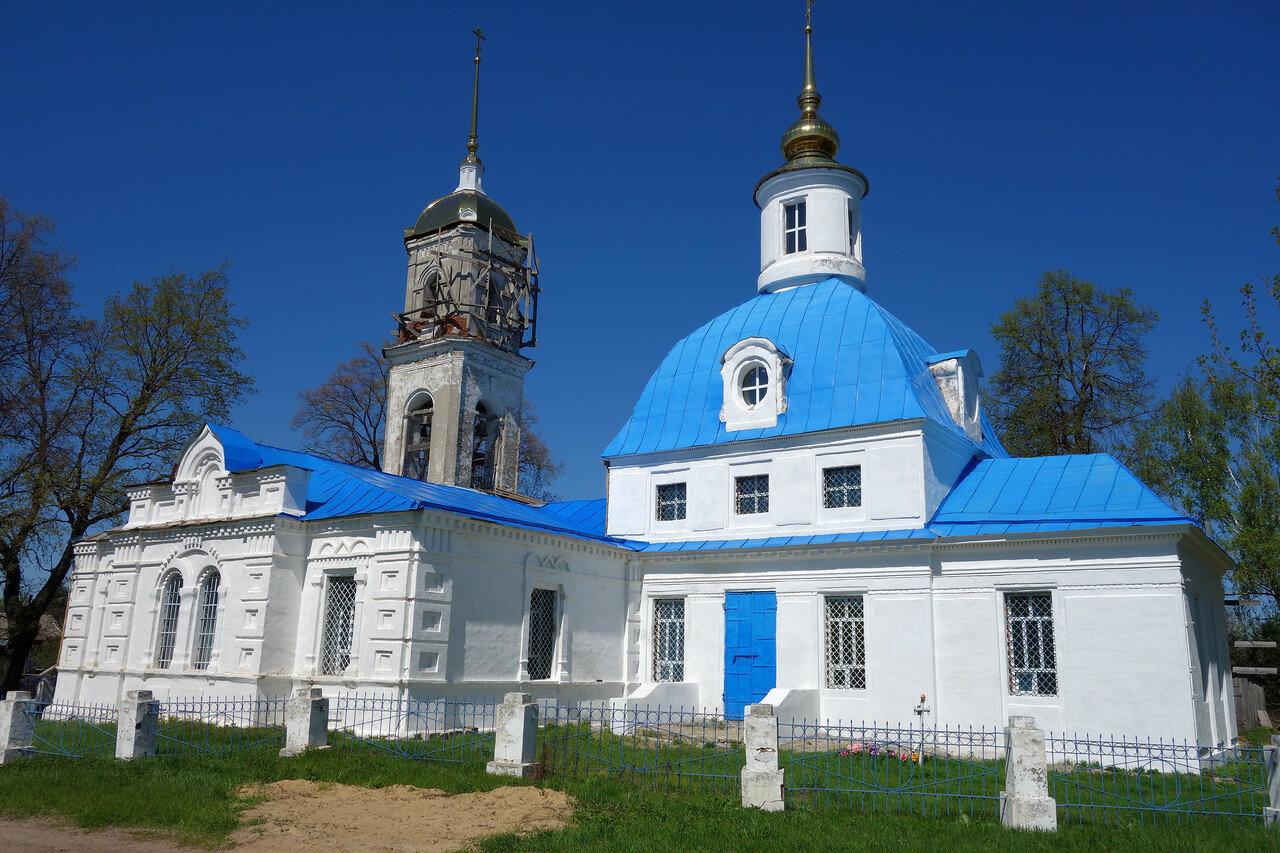 храм, село Красный Угол
