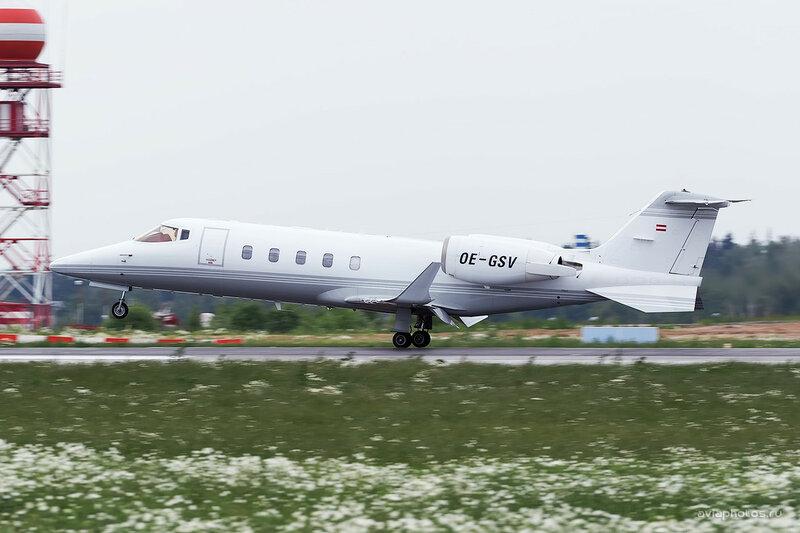 Bombardier Learjet 60 (OE-GSV) Baltic Jet AirCompany D806338