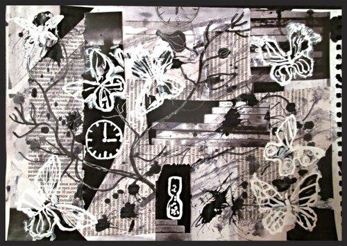 черно-белое время