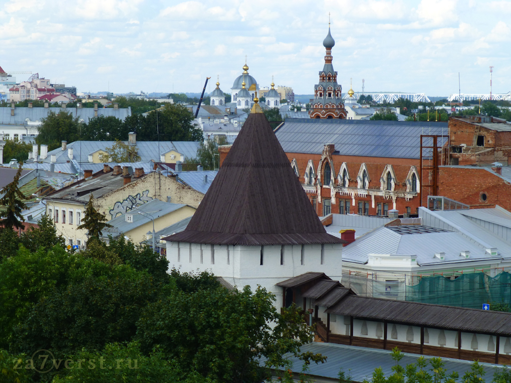 колокольня Сретенского храма Ярославль