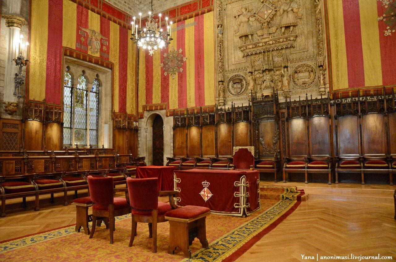 Здание городского совета в Барселоне