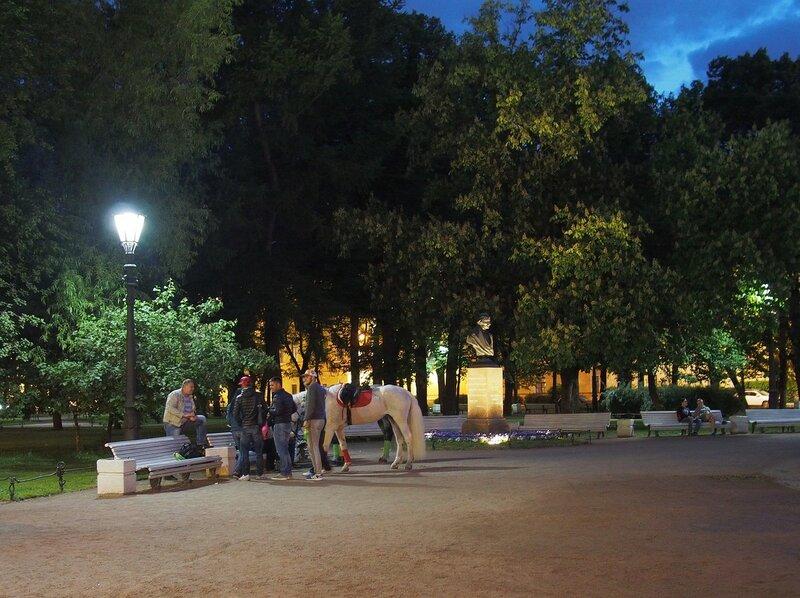 Белые ночи, июнь 2015, стрит