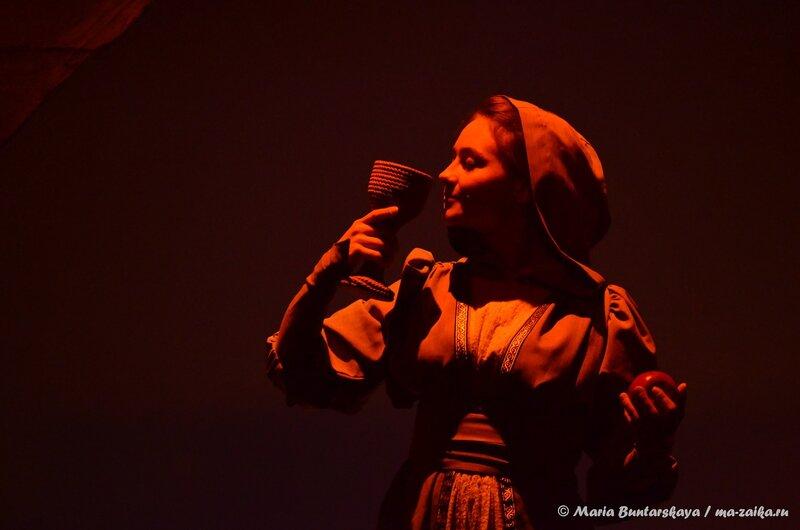 Сценическая версия поэмы М.Ю.Лермонтова 'Демон', Саратов, театр кукол 'Теремок', 24 октября 2014 года
