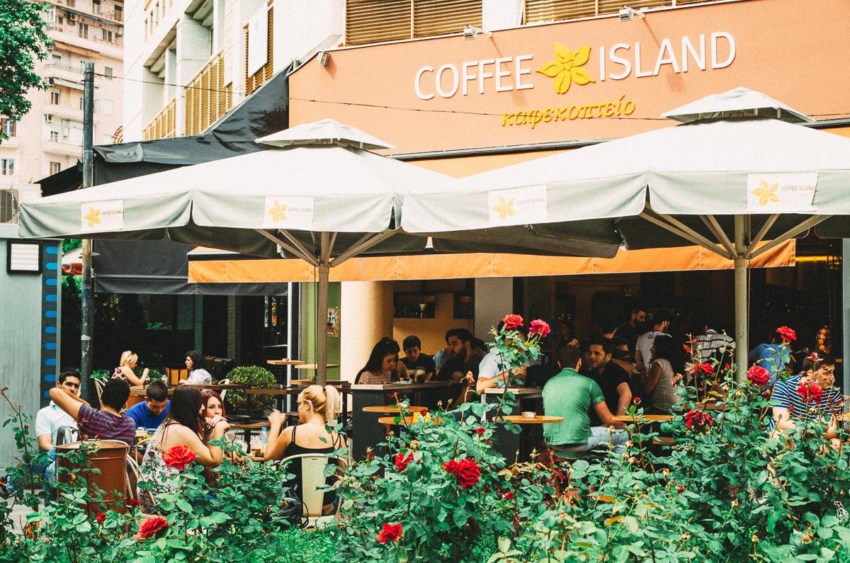 Греческий кофе-фраппе, кофе в Греции