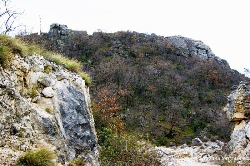 Вид на Тайный холм