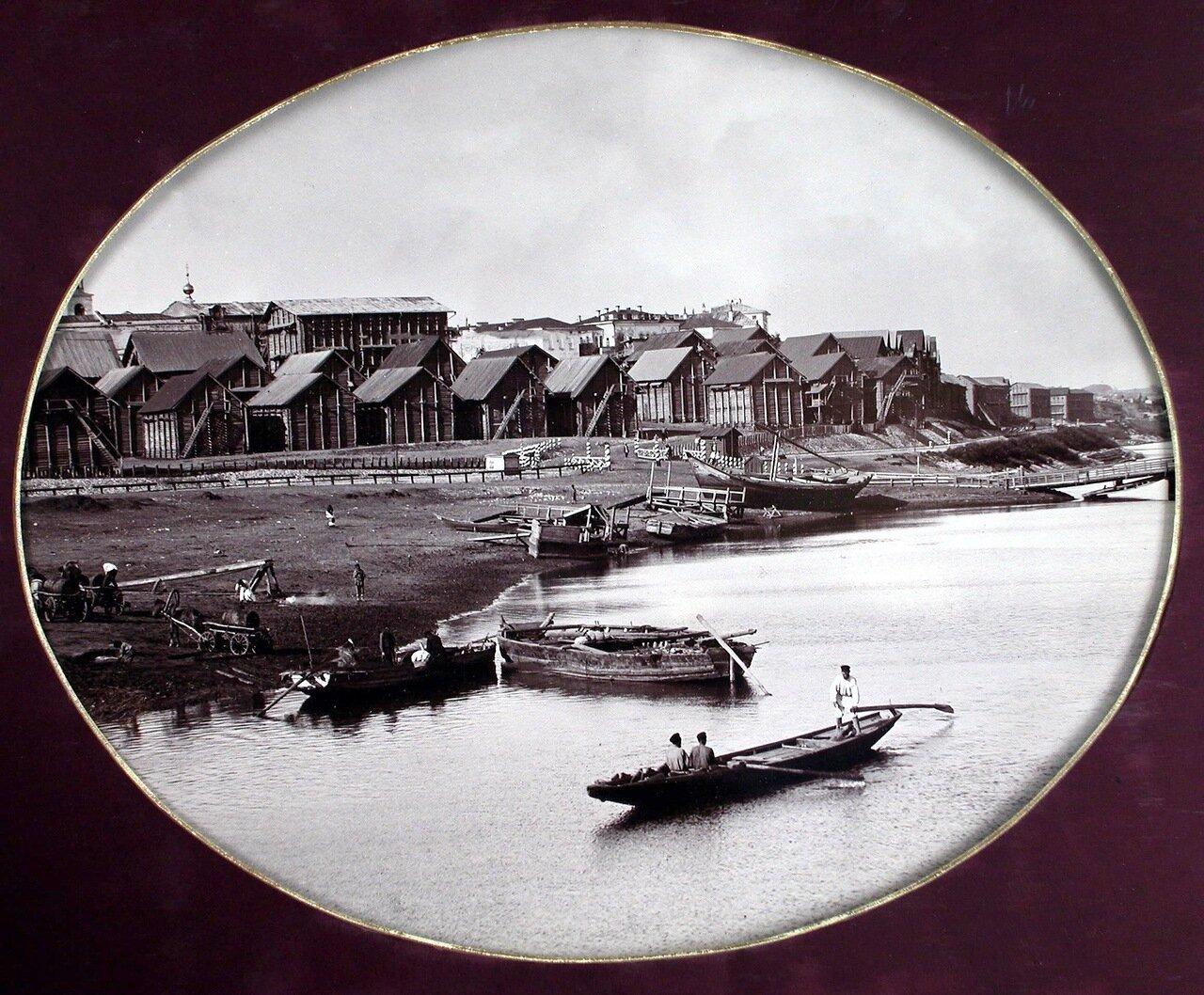 08. Вид строящихся домов на реке Самаре