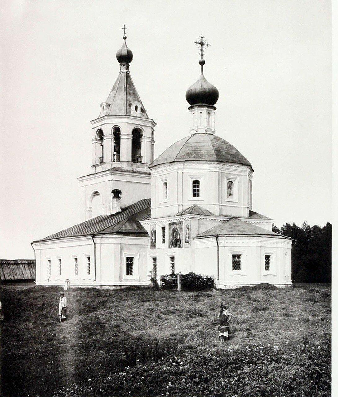 439. Окрестности Москвы. Церковь в селе Леонове