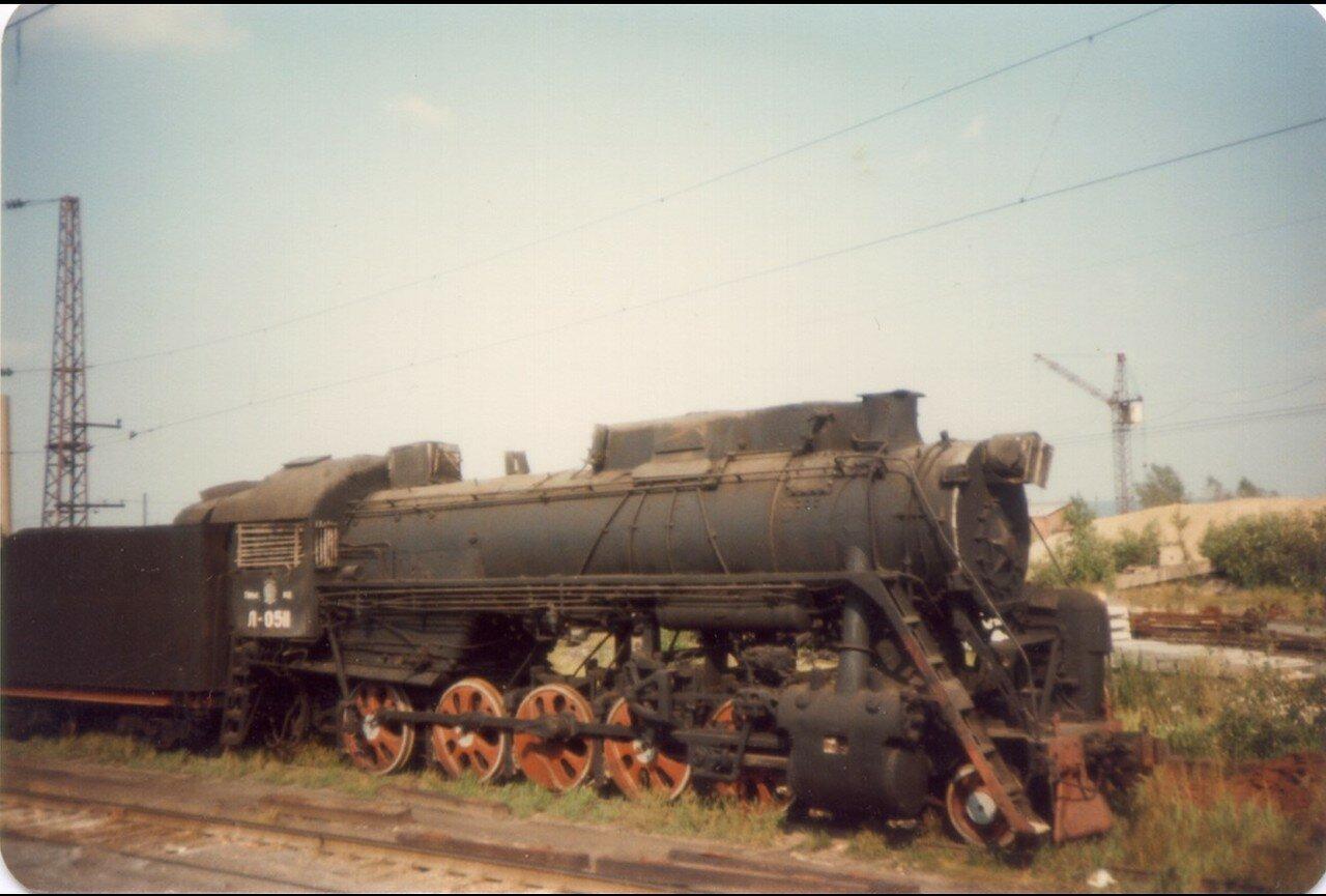 28. Ржавый локомотив