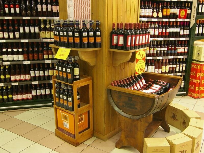 Image result for винные супермаркеты в европе фото