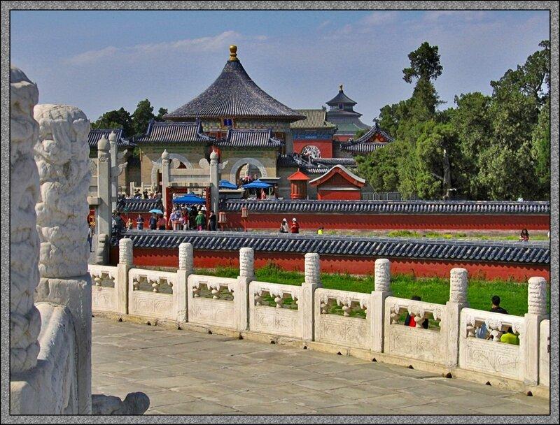 Круглый Алтарь, Храм Неба, Пекин