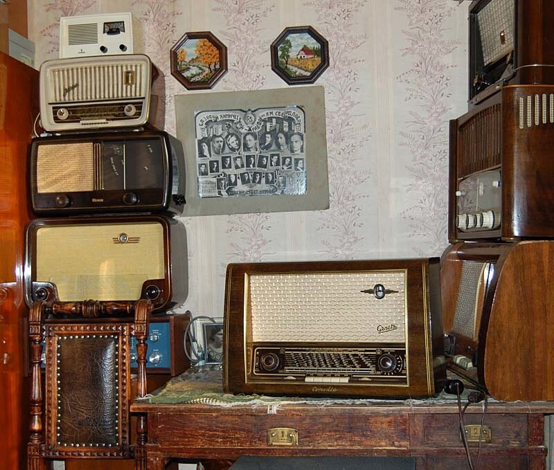 Уголок Старого радио