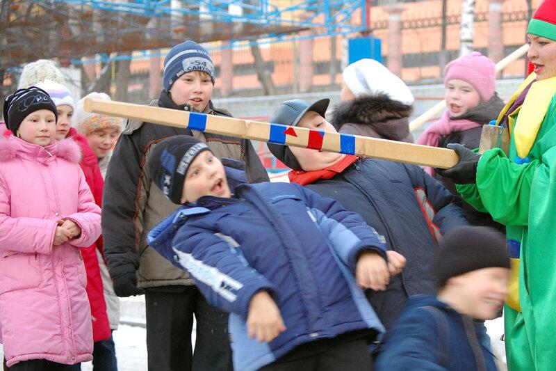 Открытие Главной ёлки Октябрьского района