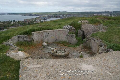 Руины зенитной батареи № 68, Керчь