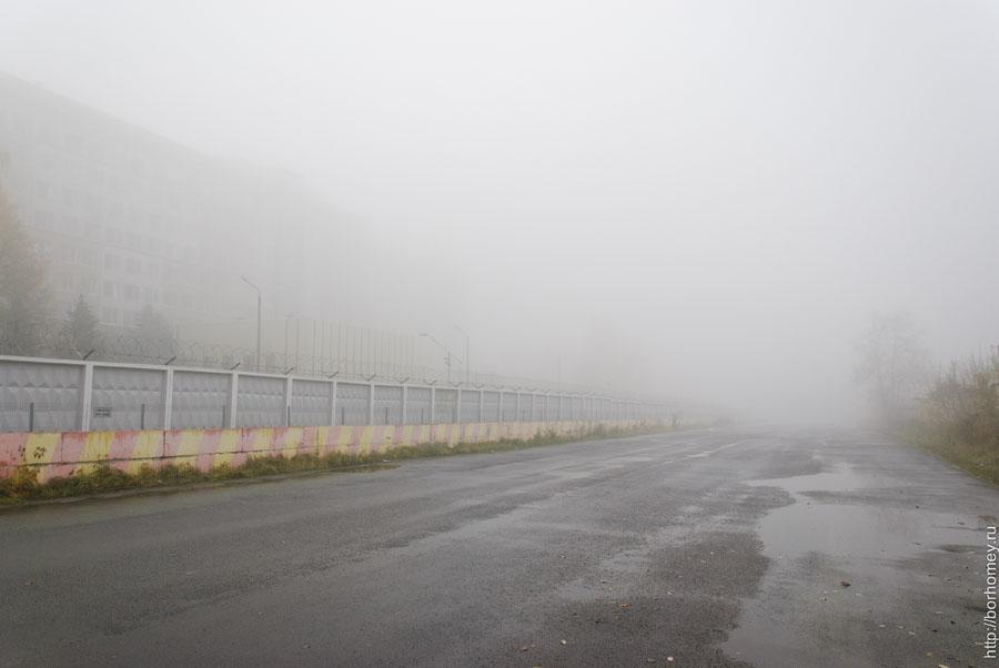саров в тумане