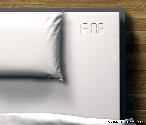Концептуальный проект предполагает использование электронного будильника, созданного на базе силикон