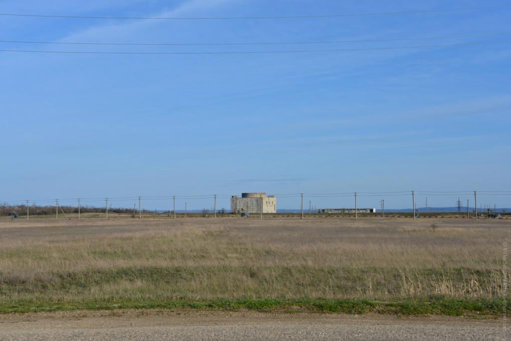монолитный железобетонный корпус Крымской атомной станции