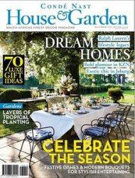 Книга Conde Nast House & Garden Magazine 2013-12
