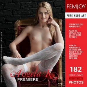 Журнал Журнал FεmJοy - 2012-06-12 - Αngеlа K - Ρrеmіеrе