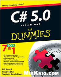 Книга C # 5.0 All-in-One For Dummies